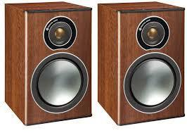 Monitor AudioBronze 1 Bookshelf Speakers Walnut (Pair)