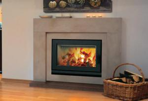 AstriaBrentwood LV EPA Certified Wood-Burning Fireplace