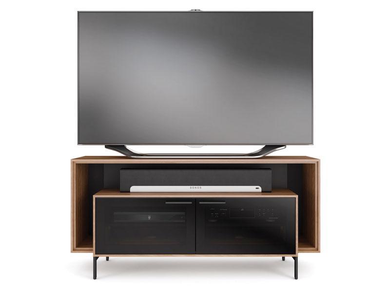 8168wlbdi cavo 8168 tv cabinet for soundbar  natural walnut  natural walnut