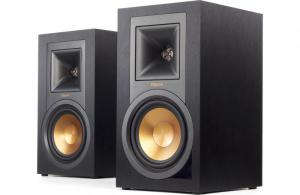 KlipschReference R-15PM Powered bookshelf speakers with Bluetooth® and built-in phono preamp (Black)