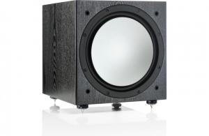 Monitor AudioMonitor Audio Silver W12 Powered subwoofer with auto room correction (Black Oak)