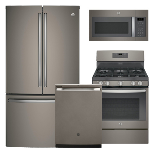 Discount Package Ge Slate Finish Kitchen Package
