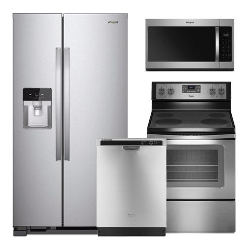 Discount package whirlpool stainless steel kitchen package - Whirlpool discount ...